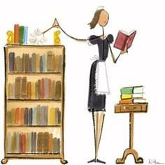 Maid-cleaning-books